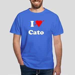 I Heart Love Cato Dark T-Shirt