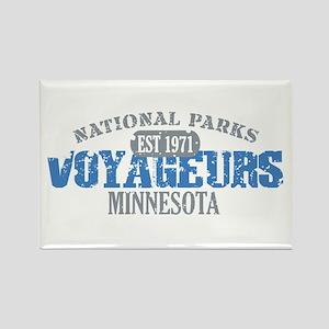 Voyageurs Park Minnesota Rectangle Magnet