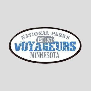 Voyageurs Park Minnesota Patches