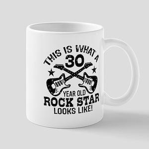 30 Year Old Rock Star Mug