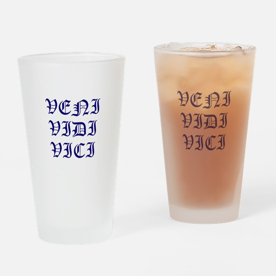 Unique Veni vidi vici Drinking Glass