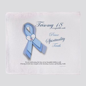 T18 Truth, Spirituality and Truth Throw Blanket