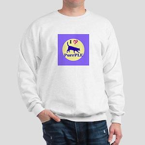 Purrple Sweatshirt