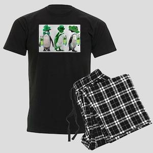 Irish penguins Men's Dark Pajamas