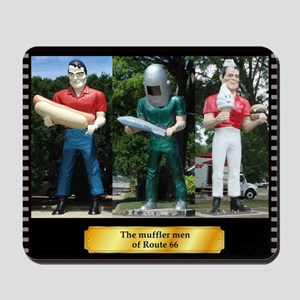 The Muffler Men Mousepad