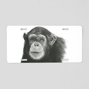 Chimpanzee,KODUA Aluminum License Plate