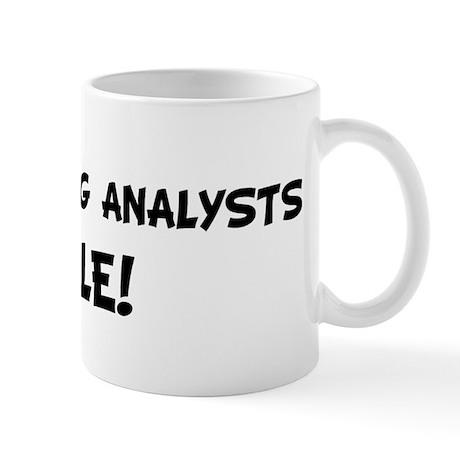 HANDWRITING ANALYSTS Rule! Mug