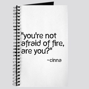 You're Not Afraid of Fire Are Journal
