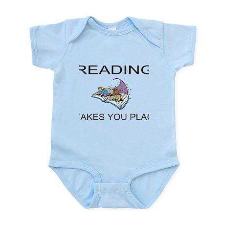 Reading Takes You Places Infant Bodysuit