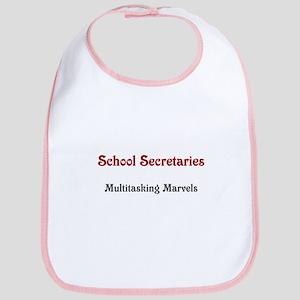 School Sec. Multitasking Marvels Bib