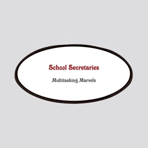 School Sec. Multitasking Marvels Patches