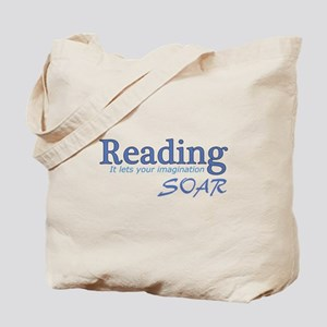 Reading Imagination Tote Bag