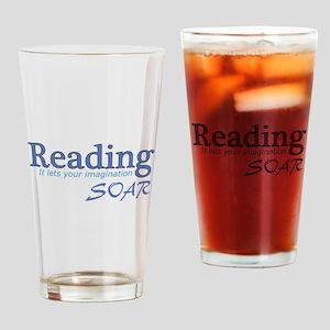 Reading Imagination Drinking Glass