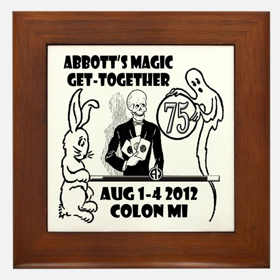 Spooky 75th Home Products Framed Tile
