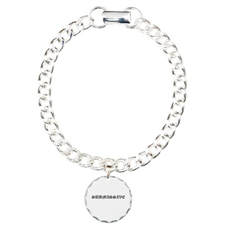 SUBMISSIVE Charm Bracelet, One Charm