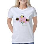 3beespinkflowers Women's Classic T-Shirt