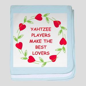 yahtzee baby blanket