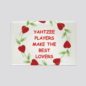 yahtzee Rectangle Magnet
