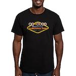 10 Year Anniversary Men's FITTED T-Shirt (Orange)