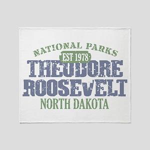 Theodore Roosevelt Park ND Throw Blanket