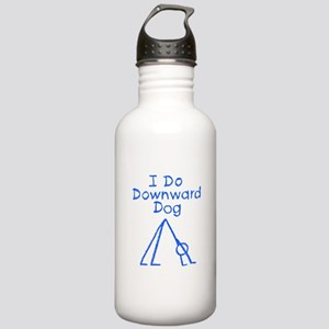 Blue Downward Dog Stainless Water Bottle 1.0L