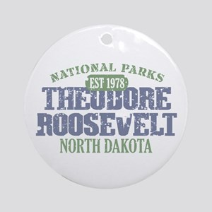 Theodore Roosevelt Park ND Ornament (Round)