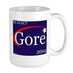 RE-ELECT GORE in 2004 Large Mug