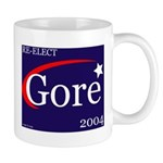 RE-ELECT GORE in 2004 Mug