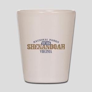 Shenandoah National Park VA Shot Glass