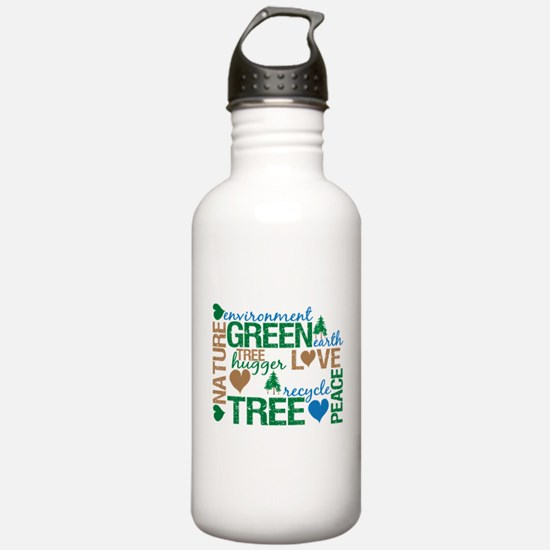 Live Green Montage Water Bottle