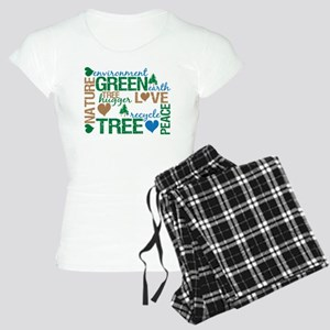 Live Green Montage Women's Light Pajamas