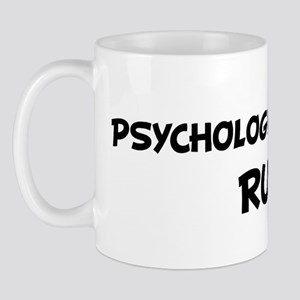 PSYCHOLOGY STUDENTS Rule! Mug