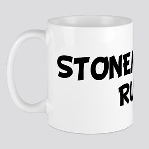 STONEMASONS Rule! Mug