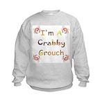 Crabby Grouch Kids Sweatshirt