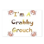 Crabby Grouch Postcards (Package of 8)