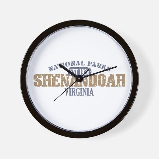 Shenandoah National Park VA Wall Clock