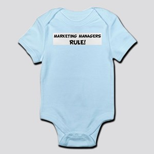 MARKETING MANAGERS Rule! Infant Creeper