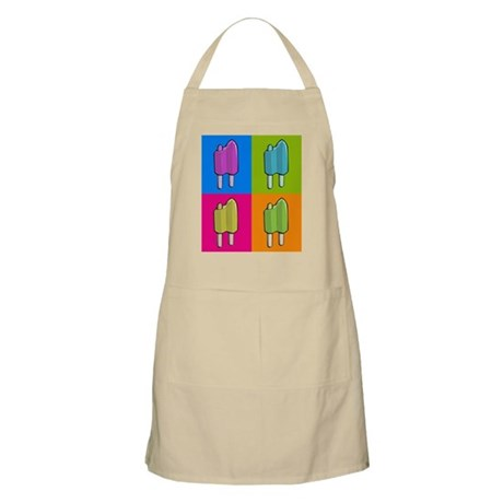 Popsicle Ice Cream Pop Art Apron