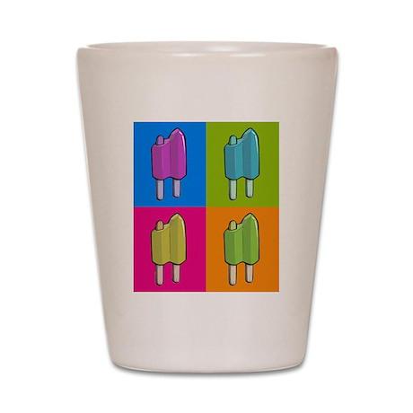 Popsicle Ice Cream Pop Art Shot Glass