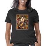 Mardi Gras Mask and Beauti Women's Classic T-Shirt