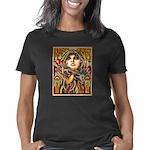 Mardi Gras Mask and Beauti Women's Classic T-Shirt