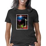 Giraffe and Frog Art Deco  Women's Classic T-Shirt