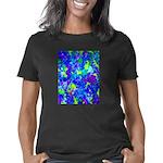 Psychedelic Flower Art Dec Women's Classic T-Shirt