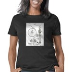 Bicycle Patent Print 1887 Women's Classic T-Shirt