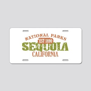 Sequoia National Park CA Aluminum License Plate