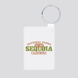 Sequoia National Park CA Aluminum Photo Keychain