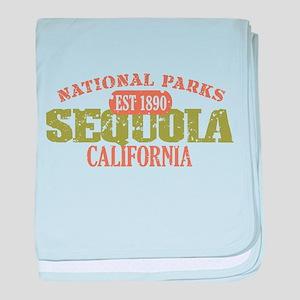 Sequoia National Park CA baby blanket