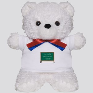 World's Coolest Teacher Teddy Bear