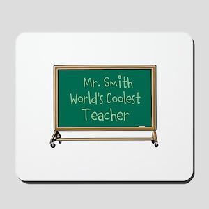 World's Coolest Teacher Mousepad