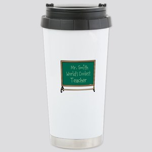 World's Coolest Teacher Stainless Steel Travel Mug